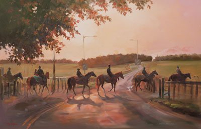 Moulton Road, Newmarket - Canvas