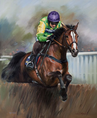 Kauto Star and Ruby Walsh - Canvas