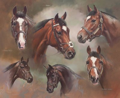 The Frankel Sire Line - Canvas