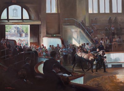Tattersalls Sales, Newmarket - Canvas