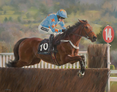 Un De Sceaux & Ruby Walsh - Canvas