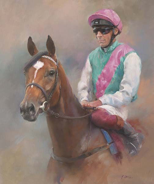 Enable and Frankie Dettori - Canvas