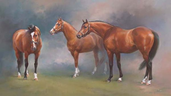 The Great Canadians - Northern Dancer, The Minstrel & Nijinsky - Canvas