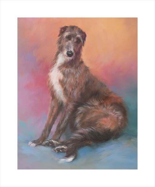 Thoughtful (Deerhound Lurcher)