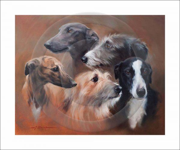 Kindred Spirits (Lurchers & Greyhounds) Copy 1