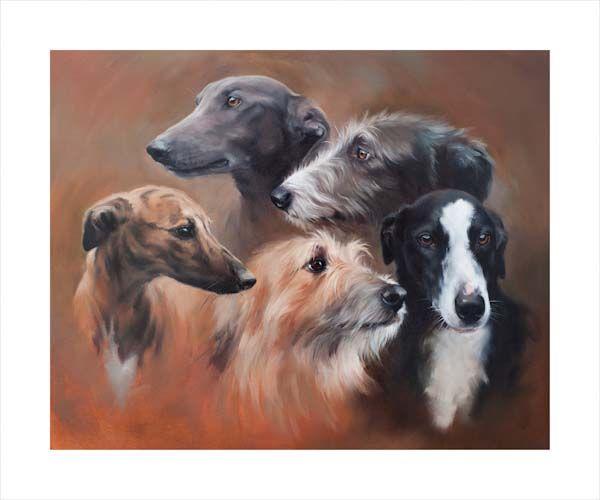Kindred Spirits (Lurchers & Greyhounds)