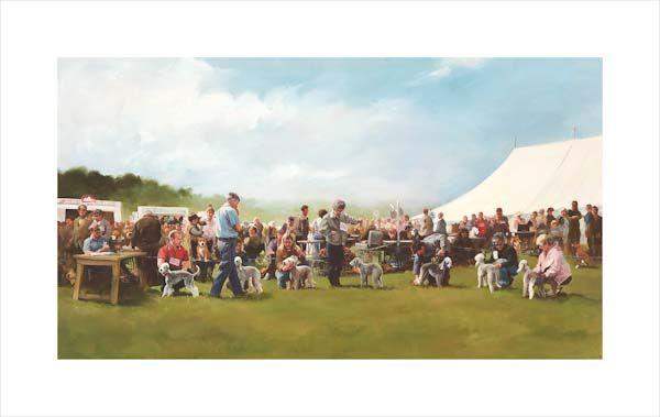 The Dog Show - Bedlington Terriers