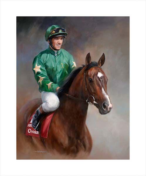 Authorized and Frankie Dettori - Epsom Derby 2007