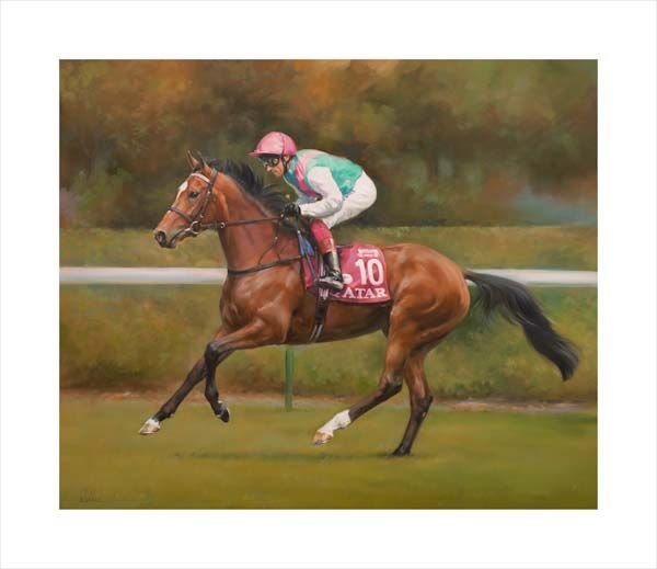 Enable and Frankie Dettori at Longchamp