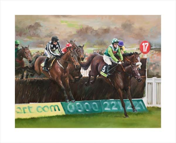 Imperial Commander, Denman and Kauto Star - 2010 Cheltenham Gold Cup