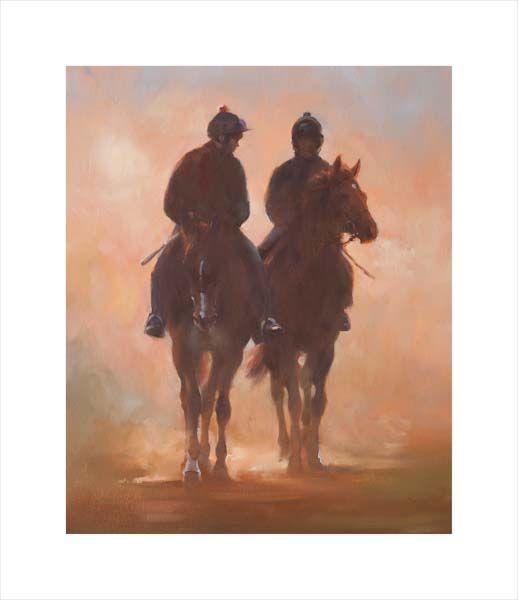 Racehorses in Sunshine